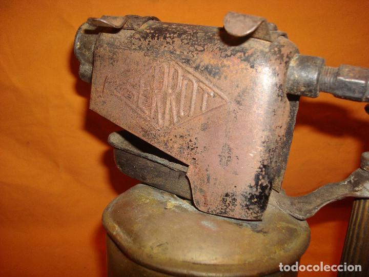 Antigüedades: Lampara soldar Serrot - Foto 5 - 195363680