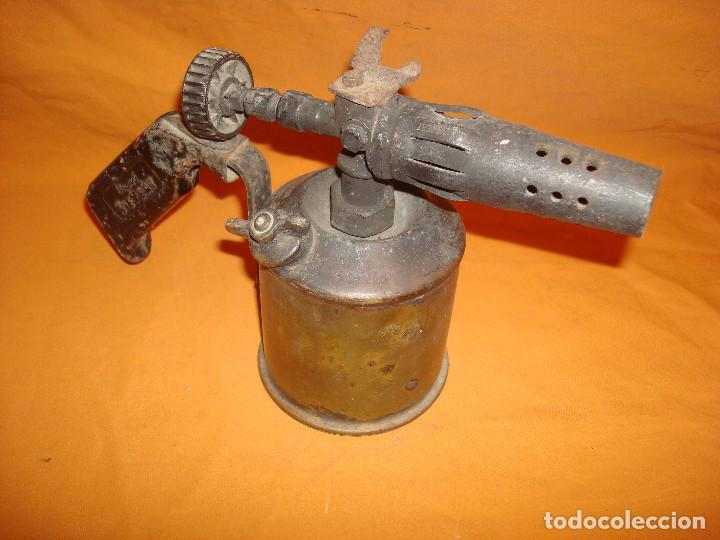 Antigüedades: Lampara soldar SIEVERT - Foto 2 - 195363977