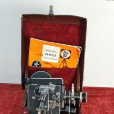 Antigüedades: CAMARA FILMADORA BOLEX PAILLARD. H8 REFLEX. MALETA ORIGINAL. SUIZA. CIRCA 1950. Lote 195369777