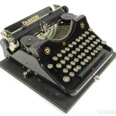 Antigüedades: MAQUINA DE ESCRIBIR DANKERS VK AÑO 1937 TYPEWRITER SCHREIBMASCHINE. Lote 195425195