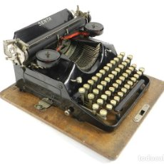 Antigüedades: MAQUINA DE ESCRIBIR SENTA Nº4 AÑO 1926 TYPEWRITER SCHREIBMASCHINE. Lote 195427516