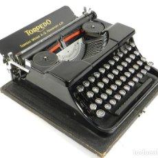 Antigüedades: MAQUINA DE ESCRIBIR TORPEDO AÑO 1931 TYPEWRITER SCHREIBMASCHINE. Lote 195428703
