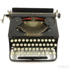 Antigüedades: MAQUINA DE ESCRIBIR TORPEDO AÑO 1930 TYPEWRITER SCHREIBMASCHINE. Lote 195430061