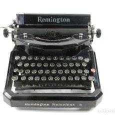 Antigüedades: MAQUINA DE ESCRIBIR REMINGTON NOISELESS Nº8 TYPEWRITER SCHREIBMASCHINE. Lote 195431395