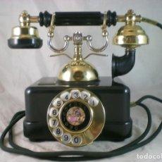 Teléfonos: TELEFONO ELASA ESTILO - CTNE - AÑOS 70 - FUNCIONA - Nº007080. Lote 195432692
