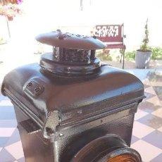 Antigüedades: LAMPARA DE TREN FERROCARRIL. Lote 195435477