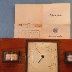 Antigüedades: BARÓMETRO SBF EDICION LIMITADA. Lote 195454800