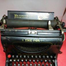 Antigüedades: MÁQUINA DE ESCRIBIR THE FOX. NÚMERO 24.. Lote 195473591