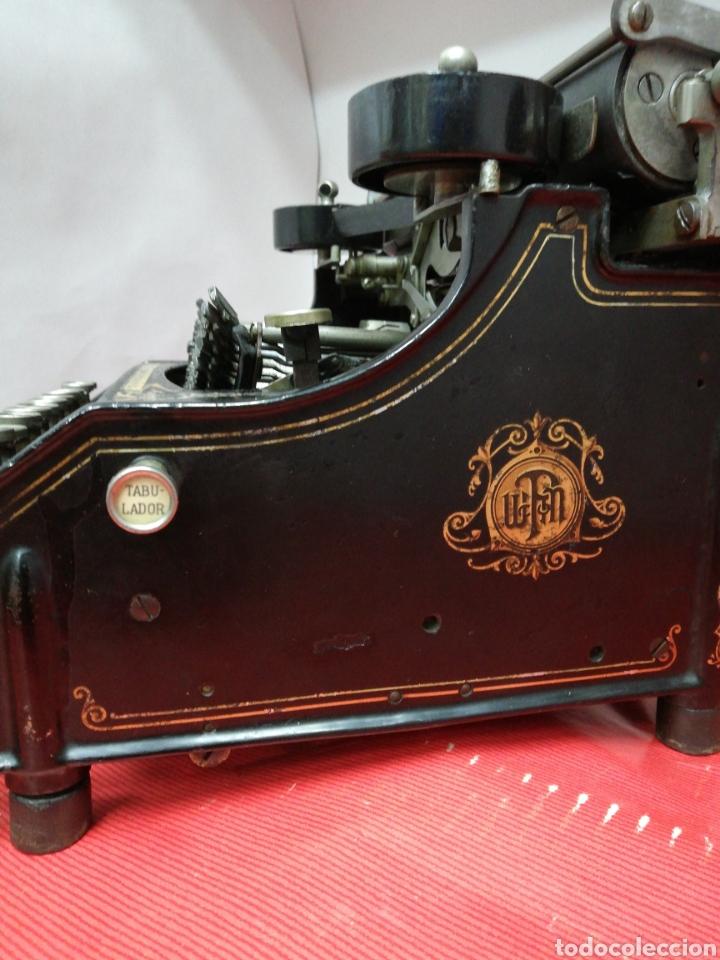 Antigüedades: Máquina de escribir Pittsburg Visible Número 12. - Foto 6 - 195474380