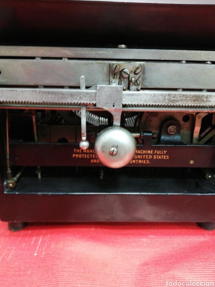 Antigüedades: Máquina de escribir Pittsburg Visible Número 12. - Foto 8 - 195474380