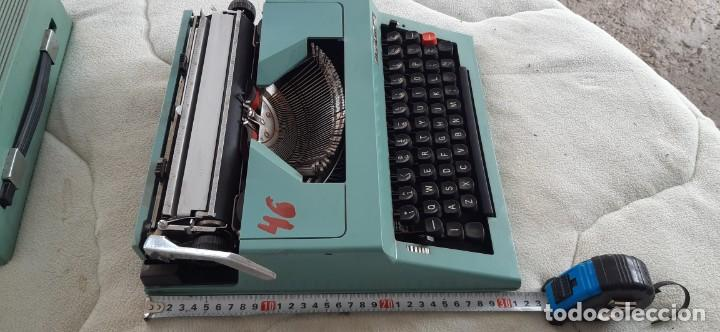 Antigüedades: Máquina escribir MARITSA 30 Años 70 - Foto 3 - 195485561