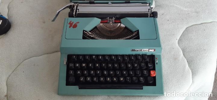 Antigüedades: Máquina escribir MARITSA 30 Años 70 - Foto 4 - 195485561