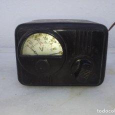 Antigüedades: TRANSFORMADOR GYG ELEVADOR BAQUELITA RADIO VOLTIOS VOLTIMETRO CORRIENTE ELECTRICA. Lote 195489620