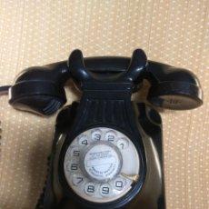 Teléfonos: TELÉFONO ANTIGUO DE PARED DE BAQUELITA, AÑOS 50. Lote 195489970