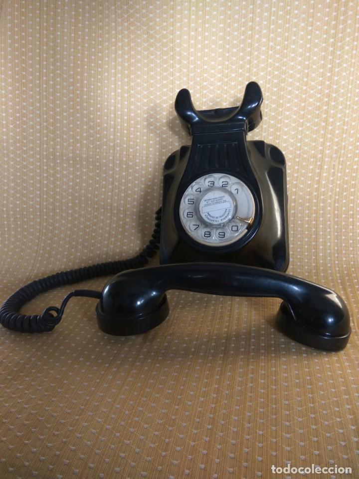 Teléfonos: TELÉFONO ANTIGUO DE PARED DE BAQUELITA, AÑOS 50 - Foto 3 - 195489970