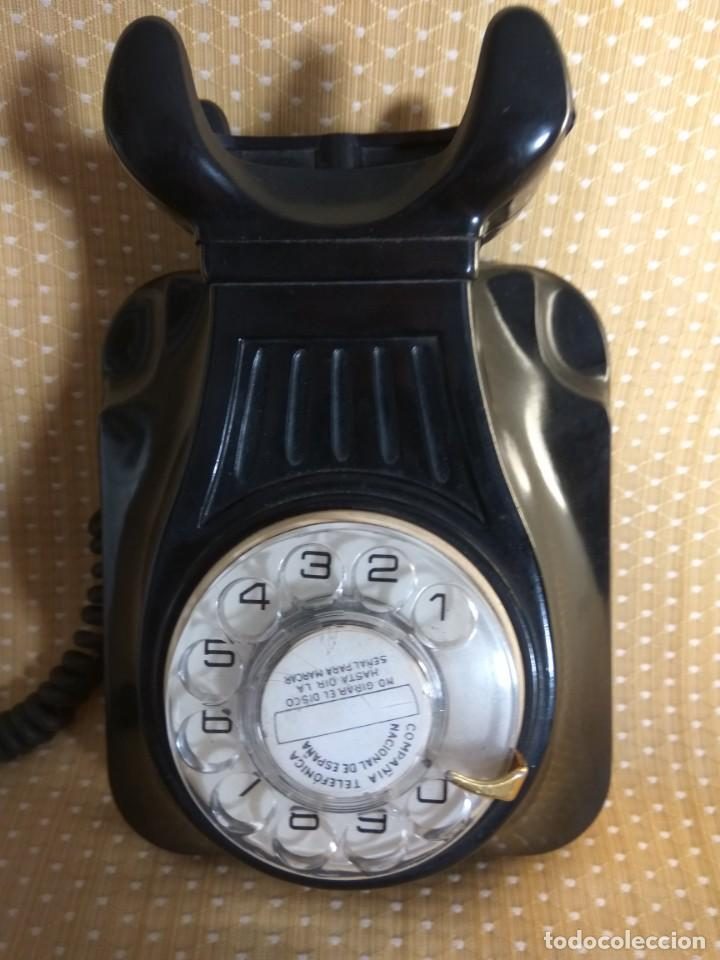 Teléfonos: TELÉFONO ANTIGUO DE PARED DE BAQUELITA, AÑOS 50 - Foto 5 - 195489970