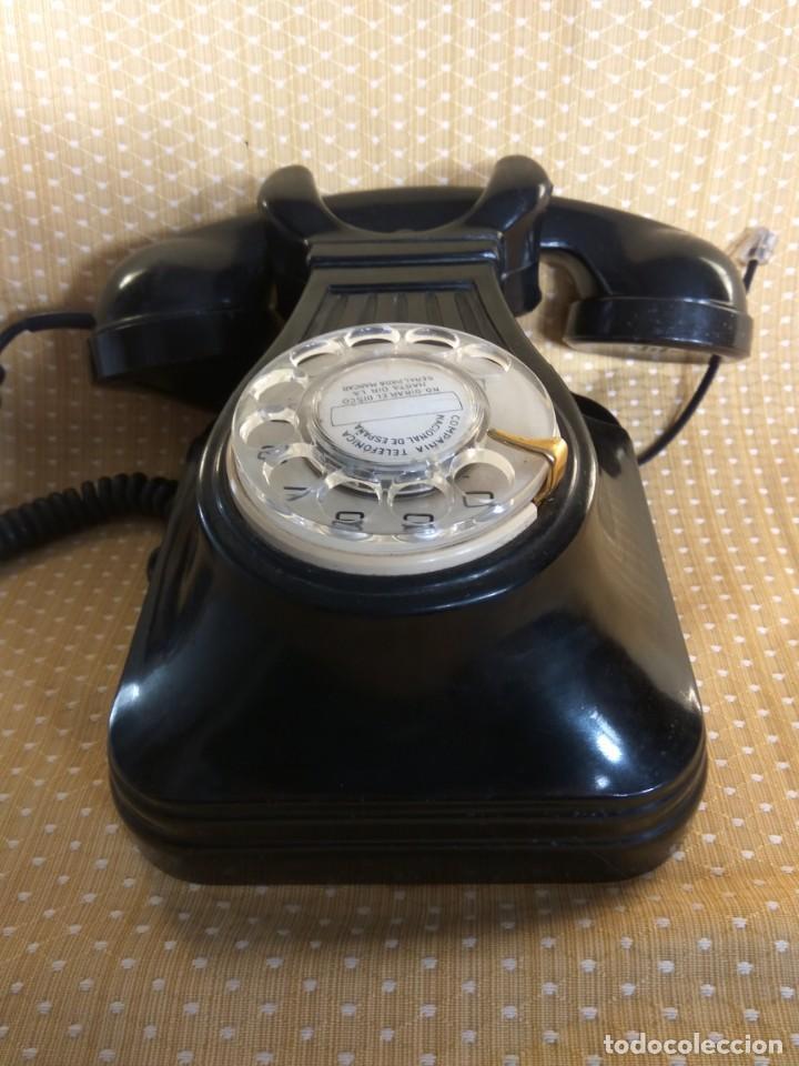 Teléfonos: TELÉFONO ANTIGUO DE PARED DE BAQUELITA, AÑOS 50 - Foto 8 - 195489970