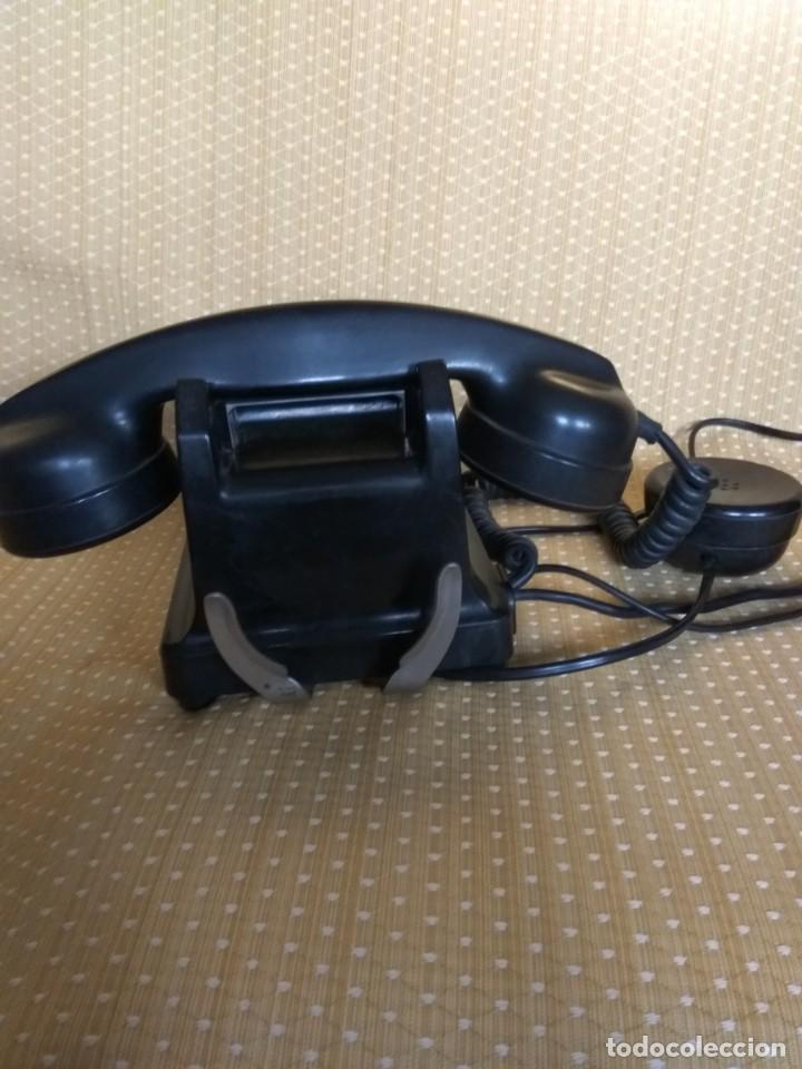 Teléfonos: TELÉFONO DE MESA FRANCÉS DE BAQUELITA, AÑO 1961, CON AURICULAR SUPLEMENTARIO - Foto 11 - 195494370