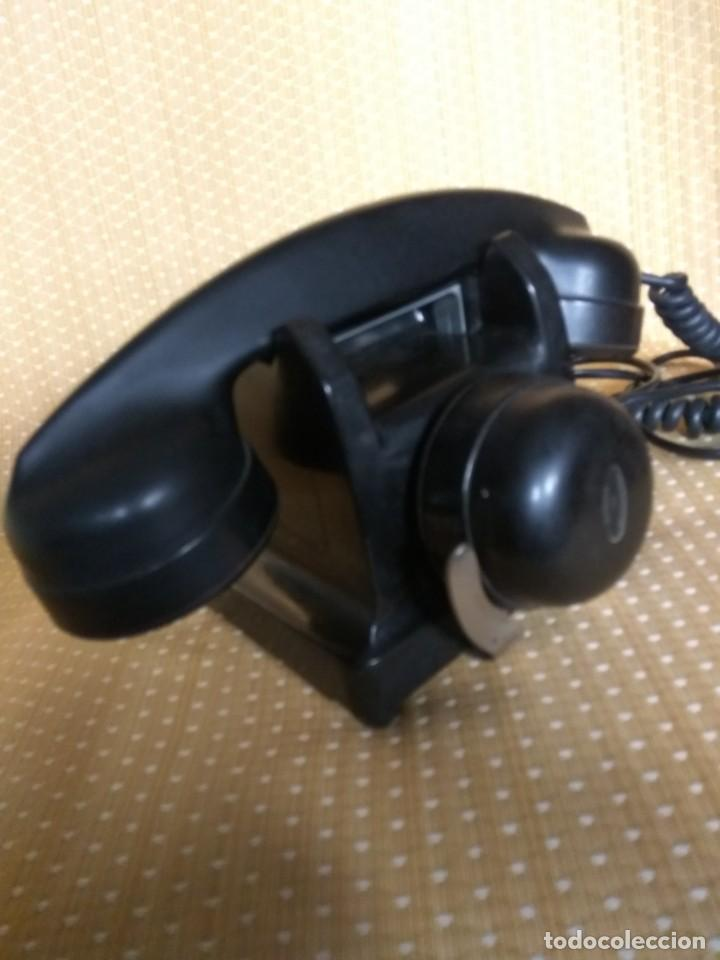 Teléfonos: TELÉFONO DE MESA FRANCÉS DE BAQUELITA, AÑO 1961, CON AURICULAR SUPLEMENTARIO - Foto 14 - 195494370