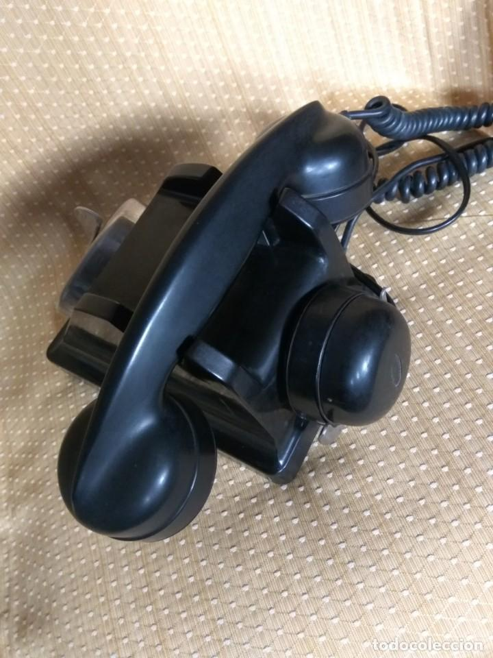 Teléfonos: TELÉFONO DE MESA FRANCÉS DE BAQUELITA, AÑO 1961, CON AURICULAR SUPLEMENTARIO - Foto 15 - 195494370