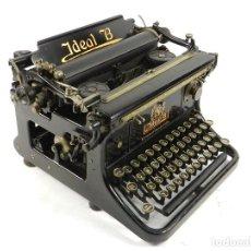 Antiguidades: MAQUINA DE ESCRIBIR IDEAL B AÑO 1913 TYPEWRITER SCHREIBMASCHINE. Lote 195515003