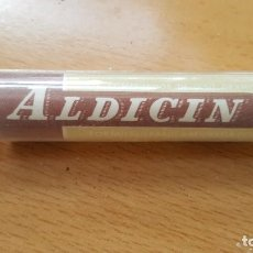 Antigüedades: ANTIGUO MEDICAMENTO ALDICIN CASA SEGALA. Lote 195525998