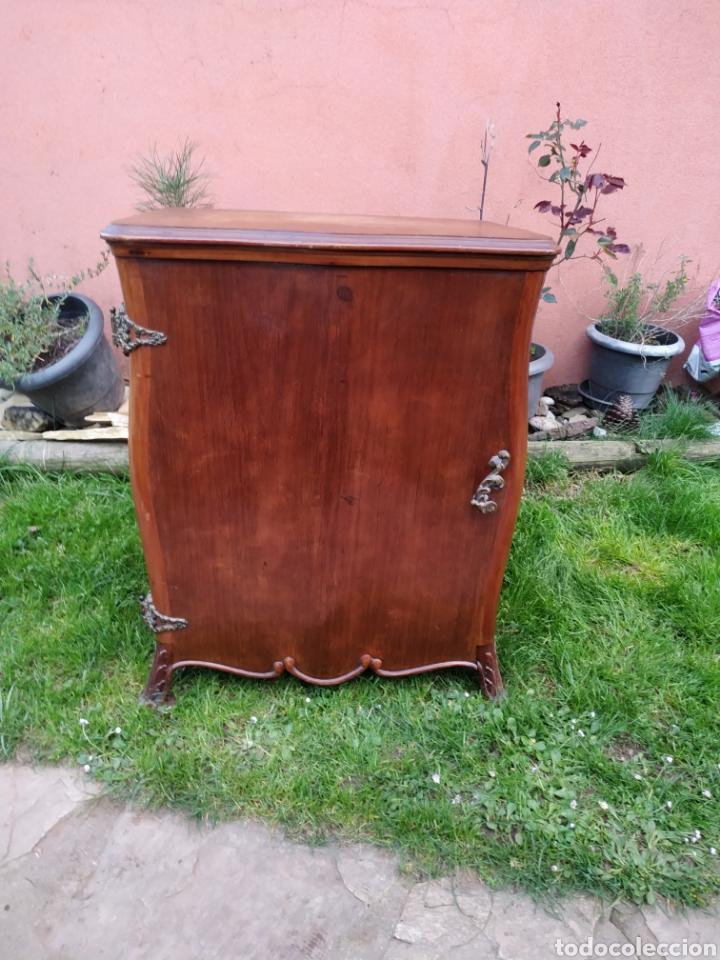 Antigüedades: Maquina de coser Refrey , con mueble precioso - Foto 10 - 195529665