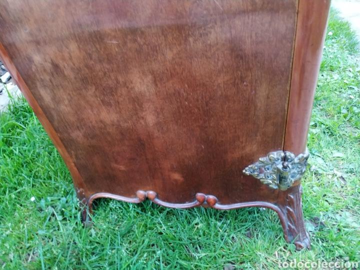 Antigüedades: Maquina de coser Refrey , con mueble precioso - Foto 24 - 195529665