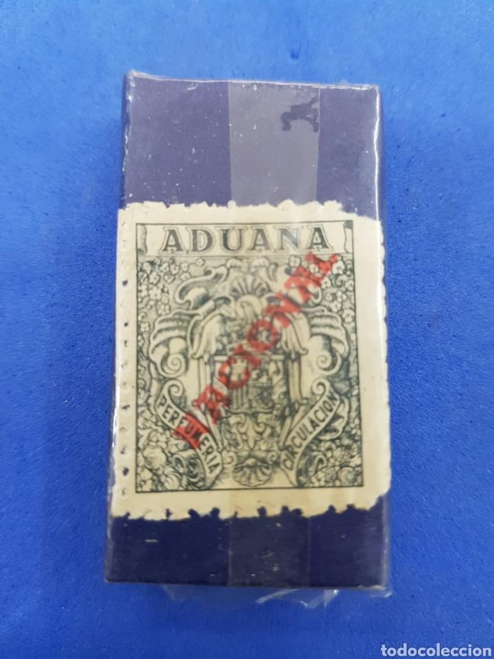 Antigüedades: La Andaluda caja de 10 hojas de afeitar - Foto 2 - 195537885