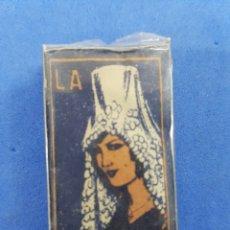 Antigüedades: LA ANDALUDA CAJA DE 10 HOJAS DE AFEITAR. Lote 195537885