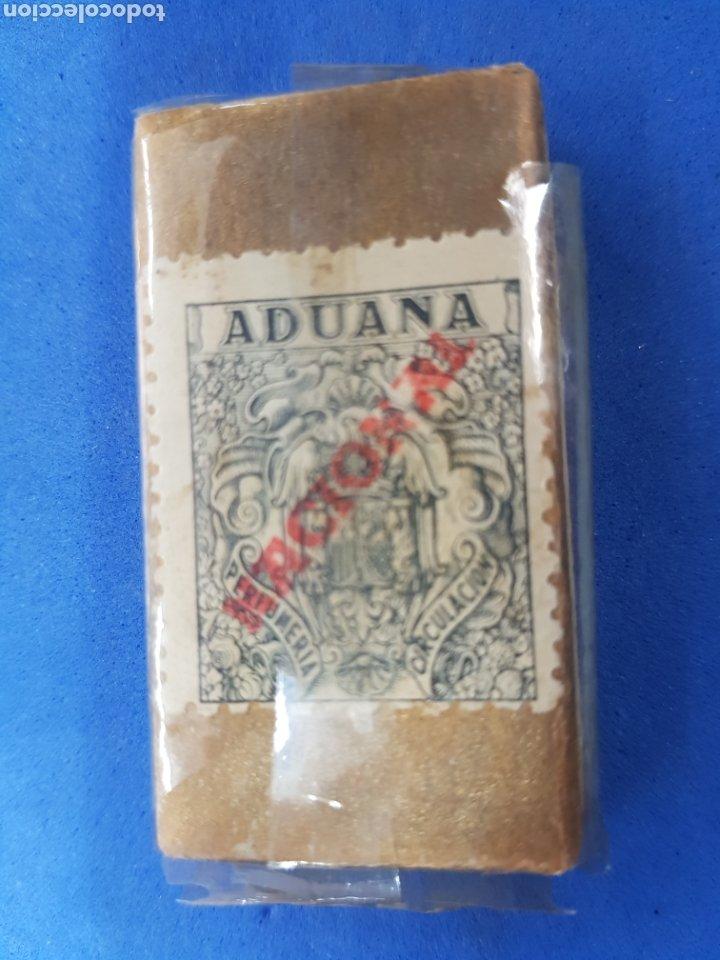 Antigüedades: Maruxa caja de 10 hojas de afeitar - Foto 2 - 195538261