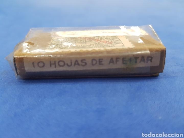 Antigüedades: Maruxa caja de 10 hojas de afeitar - Foto 3 - 195538261