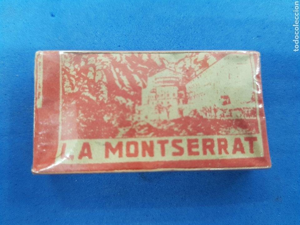 LA MONTSERRAT CAJA DE 10 HOJAS DE AFEITAR (Antigüedades - Técnicas - Barbería - Hojas de Afeitar Antiguas)