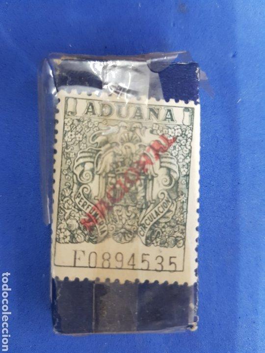 Antigüedades: La Cadena ,Caja de 10 hojas de afeitar - Foto 2 - 195539051
