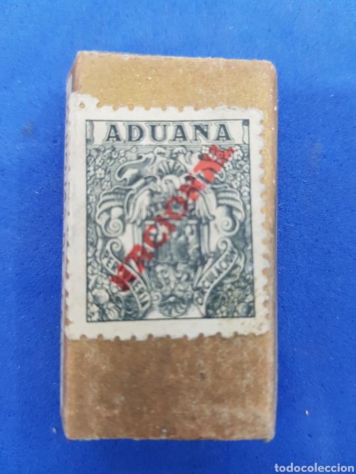 Antigüedades: Maruxa Especial caja con 9 hojas de afeitar - Foto 2 - 195539395
