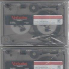 Antigüedades: LOTE DE 2 VERBATIM DL 600A DATA CARTRIDGE NUEVOS Y PRECINTADOS. Lote 195564457