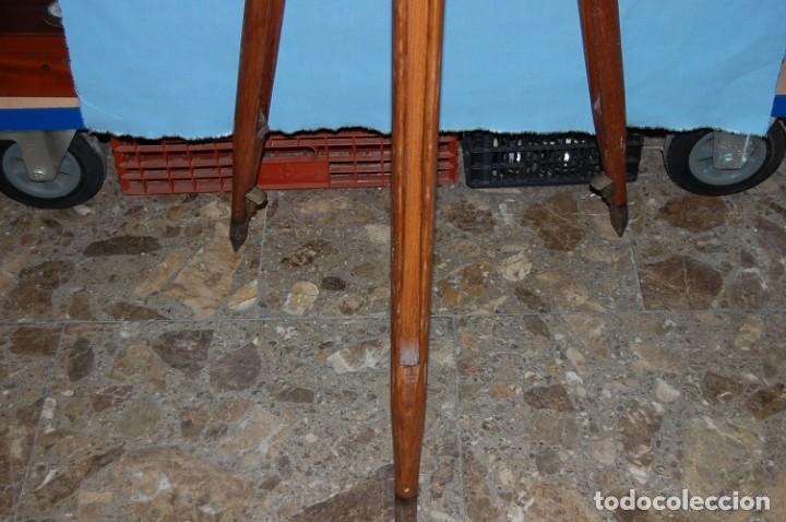 Antigüedades: ANTIGUO CATALEJO CON TRIPODE FIRMA E.VION PARIS DE 1900 - Foto 7 - 195642280