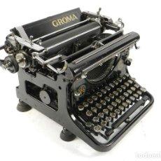 Antigüedades: MAQUINA DE ESCRIBIR GROMA AÑO 1930 TYPEWRITER SCHREIBMASCHINE. Lote 195670187
