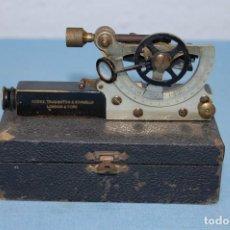 Antigüedades: SEXTANTE DE VIAJE FIRMA TROUGHTON SIMMS LTD.. Lote 195675577