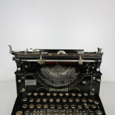Antiquités: MAQUINA DE ESCRIBIR - UNDERWOOD STANDARD TYPEWRITER Nº 5 MADE IN USA - AÑOS 20. Lote 195702111
