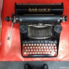 Antigüedades: MAQUINA DE ESCRIBIR BAR - LOCK. Lote 195718048