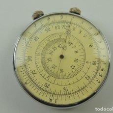 Antiquités: ANTIGUA REGLA DE CALCULO CIRCULAR REDONDA RUSIA BUEN ESTADO RARO AÑOS 60-70. Lote 195730228