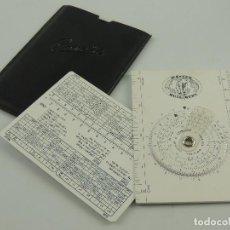 Antiquités: VINTAGE REGLA DE CÁLCULO CIRCULAR CONCISE JAPON. Lote 195731165