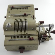 Antiquités: ANTICUA CALCULADORA SUMADORA BRUNSVIGA BRAUNXCHWEIG MADE IN WESTERN GERMANY. Lote 195731516