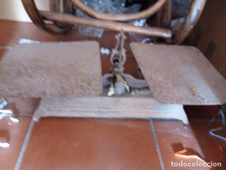 BALANZA ANTIGUA (Antigüedades - Técnicas - Medidas de Peso - Básculas Antiguas)