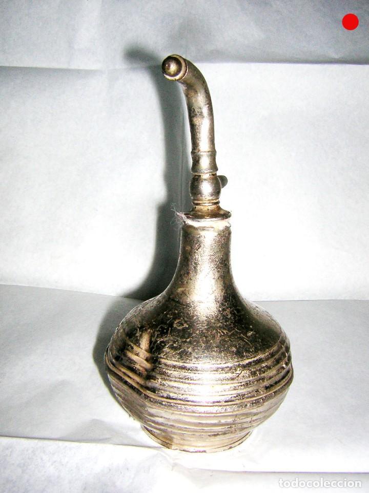 Antigüedades: PERFUMERO O PERFUMADOR ANTIGUO DE BARBERIA SOLO PARA ADORNO - Foto 2 - 195742540