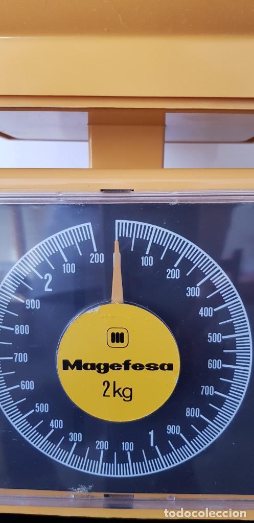 Antigüedades: Báscula vintage Magefesa-1972 - Foto 4 - 195755570
