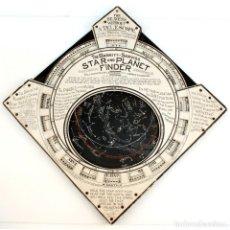 Antigüedades: 1906 - GRAN PLANISFERIO BARRITT-SERVIS CATALOGADO EN EL SMITHSONIAN STARFINDER BUSCADOR DE ESTRELLAS. Lote 195802627