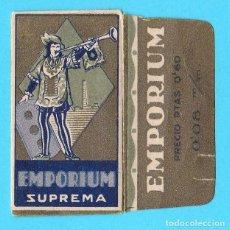 Antigüedades: HOJA DE AFEITAR. EMPORIUM SUPREMA. PRECIO PTAS 0,60. FABRICANTE FÁBRICAS REUNIDAS S.A.. Lote 195811308