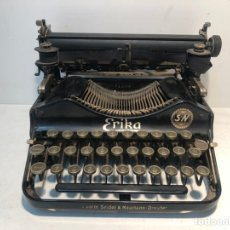 Antigüedades: MAQUINA DE ESCRIBIR ERIKA AÑO 1917 PLEGABLE.. Lote 195812280